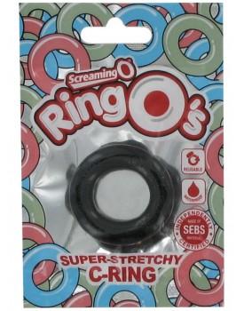 Erekční kroužek The RingO - černý od The Screaming O