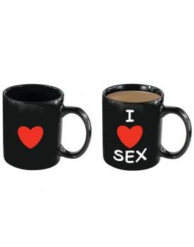 Kouzelný hrnek I LOVE SEX - 325 ml