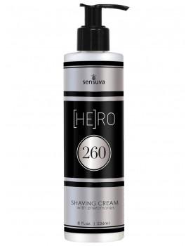 Krém na holení s feromony pro muže (HE)RO 260 - Sensuva