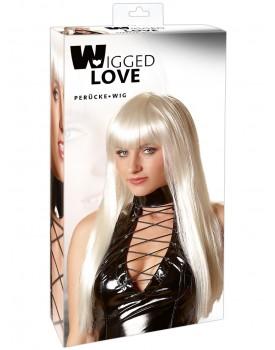Dlouhá platinová blond paruka Christina - Wigged Love