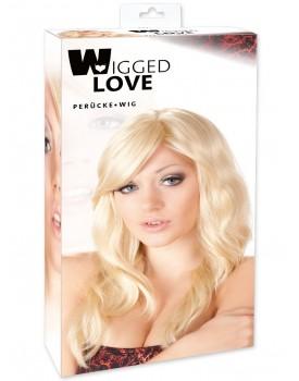 Dlouhá lehce vlnitá blond paruka Britney - Wigged Love