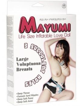 Nafukovací panna Mayumi - 3 otvory