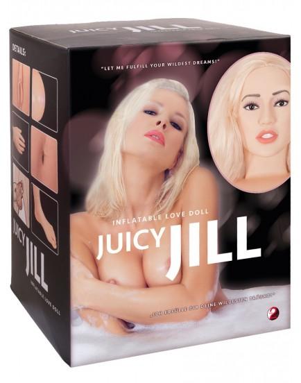 Nafukovací panna Juicy Jill - 2 otvory