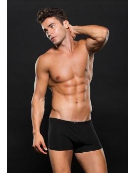Boxerky - černé s jemným čtverečkovaným vzorem
