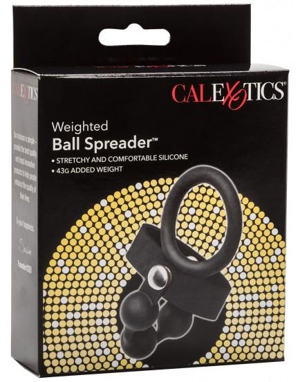 Rozdělovač varlat se závažím a erekčním kroužkem Weightet Ball Spreader
