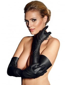 Dlouhé kožené rukavice - ZADO