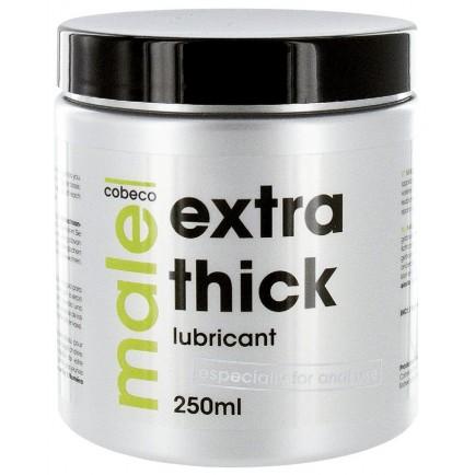 Extra hustý anální lubrikační gel MALE EXTRA THICK, 250 ml