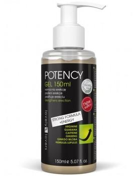 Lubrikační gel pro silnější erekci POTENCY - Lovely Lovers