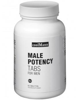 MALE POTENCY TABS - pro intimní, psychické i fyzické zdraví mužů (60 tablet)