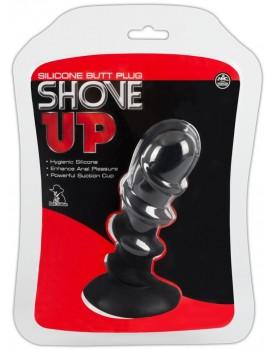 Anální kolík se stimulační spirálou Shove Up (14,5 cm)