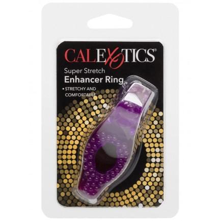 Erekční kroužek se stimulačními výstupky Enhancer Ring Purple