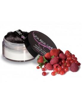 Jedlý tělový pudr Lady Snow Červené ovoce - Voulez-Vous
