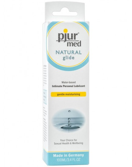 Lubrikační gel Pjur Med Natural Glide - 100 ml