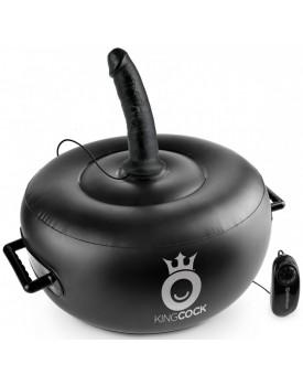 Nafukovací sedátko s vibrátorem Vibrating Inflatable Hot Seat - Pipedream