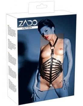 Kožený postroj se zapínáním za krkem - ZADO