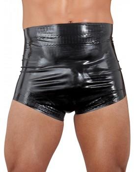 Latexové plenkové kalhotky v černé barvě, unisex (LateX)