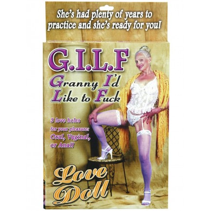 Nafukovací panna GILF - Pipedream