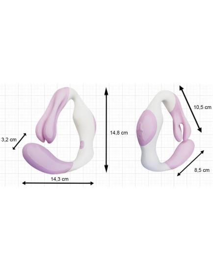 Vibrátor (stimulátor) na bod G a klitoris O Venus