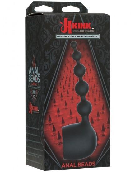 Nástavec na masážní hlavici KINK (anální kuličky)