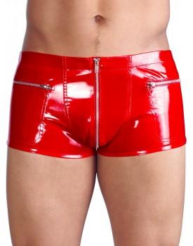 Lakované boxerky - červené (Black Level)