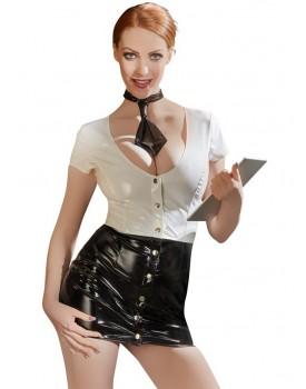 Lakovaný kostým Sekretářka - Black Level