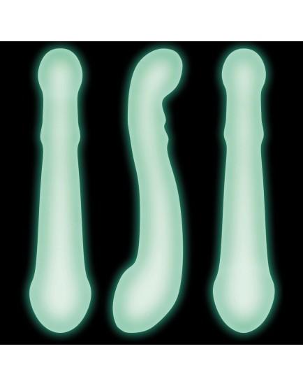Fluoreskující oboustranné dildo PHOSPHO So Dildo - Dorcel