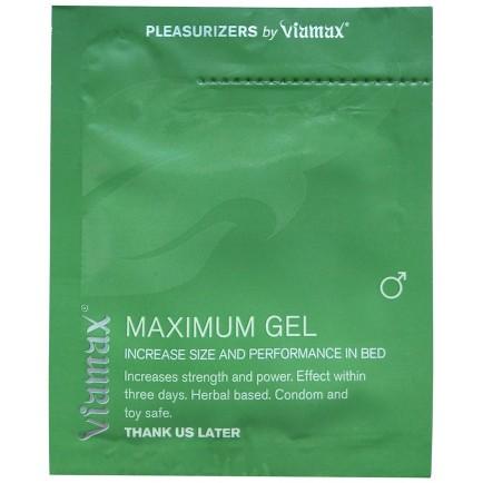 Gel na posílení erekce Viamax - Maximum Gel, vzorek