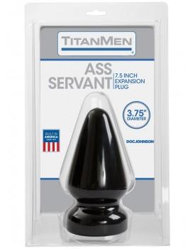 Velký anální kolík Titanmen Ass Servant - Doc Johnson