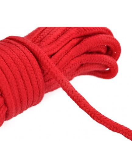 Lano na bondage - červené, 20 m