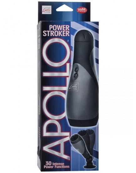 Pánský masturbátor s vibracemi Apollo Power Stroker