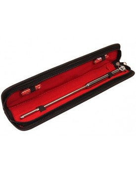 Vibrační dilatátor Urethral Vibrating Sound - kovový, 33 cm