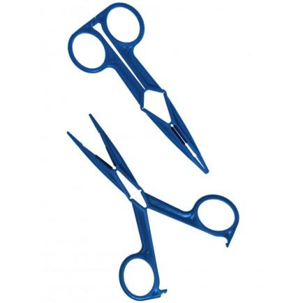 Nůžkové svorky na bradavky Rimba (plastové, 2 ks)