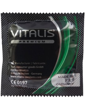 Kondom Vitalis Apple, jablko (1 ks)