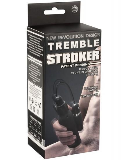 Pánský vibrační masturbátor Tremble Stroker