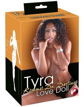 Nafukovací panna čokoládová Tyra