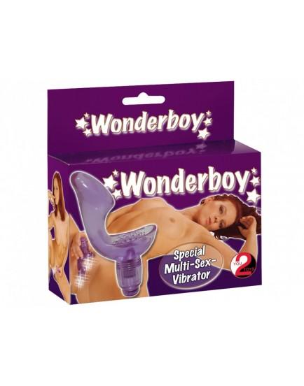 Anatomicky tvarovaný vibrátor WonderBoy