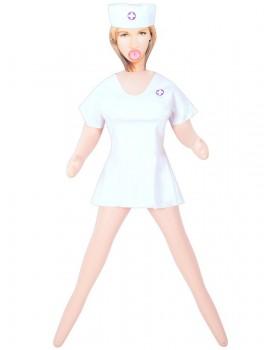 Nafukovací panna My Perfect Nurse (zdravotní sestra)