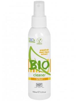 Čisticí sprej na erotické pomůcky HOT BIO - 150 ml