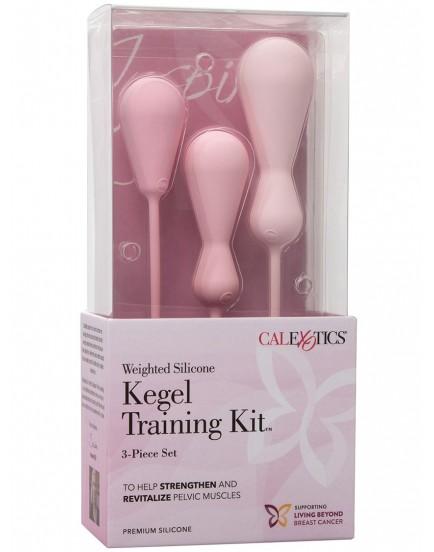 Sada silikonových vaginálních činek Inspire Kegel Training Kit, 3 ks