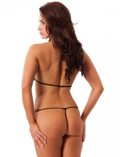 Souprava erotického prádla s mašličkami - Amorable