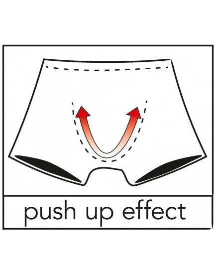 Průsvitné pánské boxerky s push-up efektem - Svenjoyment