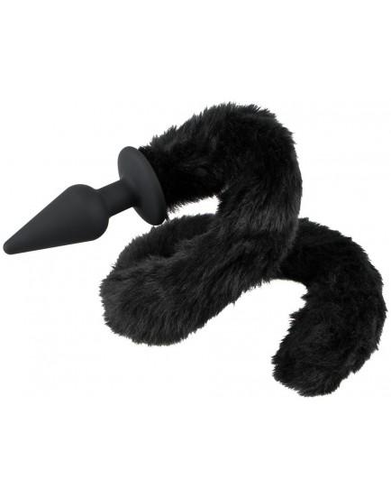 Anální kolík s tvarovatelným kočičím ocáskem