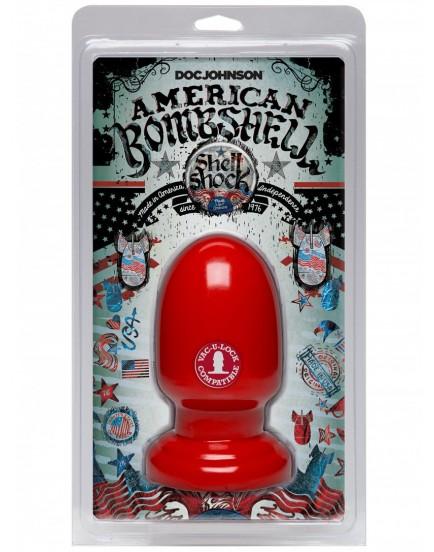 Dildo American Bombshell SHELL SHOCK Small - Doc Johnson