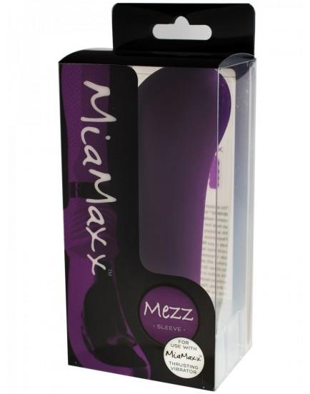 Nástavec MEZZ k přirážecímu vibrátoru MiaMaxx (fialový)