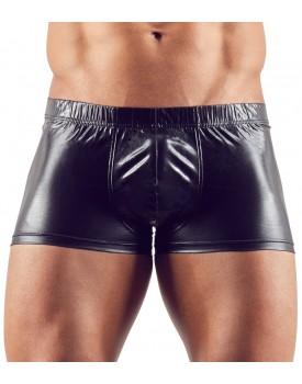 Lesklé boxerky s odnímatelným kovovým erekčním kroužkem - Svenjoyment