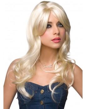 Dlouhá platinová blond paruka Jessie