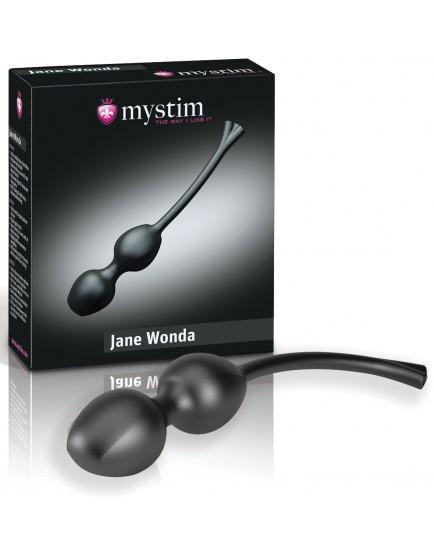 Silikonové venušiny kuličky pro elektrosex Jane Wonda - MYSTIM