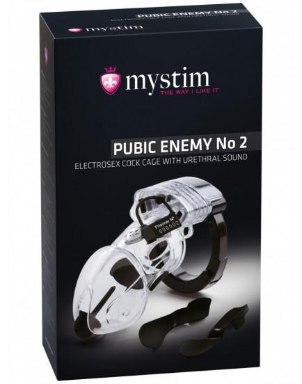 Klícka na penis pro elektrosex Pubic Enemy No 2 - MYSTIM