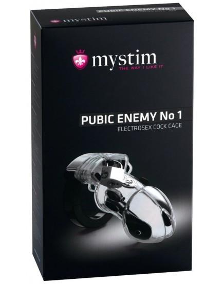 Klícka na penis pro elektrosex Pubic Enemy No 1 Transparent - MYSTIM