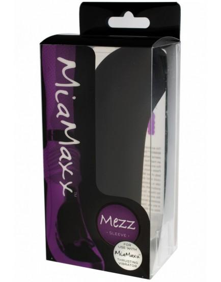 Nástavec MEZZ k přirážecímu vibrátoru MiaMaxx (černý)